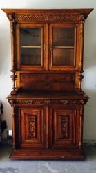 Antique English Oak Hutch